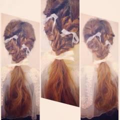 ヘアアレンジ ナチュラル ショート ゆるふわ ヘアスタイルや髪型の写真・画像