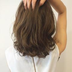 外国人風 ナチュラル ヘアアレンジ グラデーションカラー ヘアスタイルや髪型の写真・画像