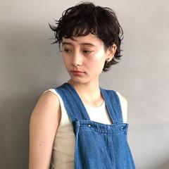 パーマ ナチュラル 前髪パーマ 簡単 ヘアスタイルや髪型の写真・画像