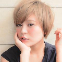 ミニボブ ショートヘア ベリーショート ショートボブ ヘアスタイルや髪型の写真・画像