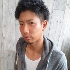黒髪 ストリート メンズ ボブ ヘアスタイルや髪型の写真・画像
