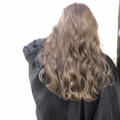 エレガント コントラストハイライト バレイヤージュ 3Dハイライト ヘアスタイルや髪型の写真・画像