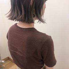 ナチュラル ハイライト ブリーチ デート ヘアスタイルや髪型の写真・画像