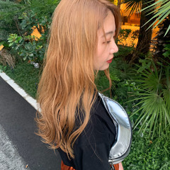 インナーカラー ロング ストリート 外国人風カラー ヘアスタイルや髪型の写真・画像