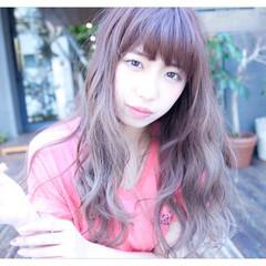 ヘアアレンジ フェミニン 外国人風 ロング ヘアスタイルや髪型の写真・画像