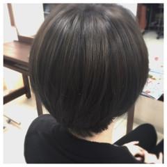 大人かわいい ショート モード 暗髪 ヘアスタイルや髪型の写真・画像