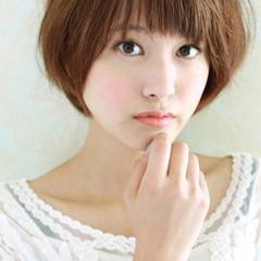 ガーリー 大人女子 ショート 大人かわいい ヘアスタイルや髪型の写真・画像