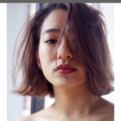 簡単ヘアアレンジ エレガント オフィス 涼しげ ヘアスタイルや髪型の写真・画像