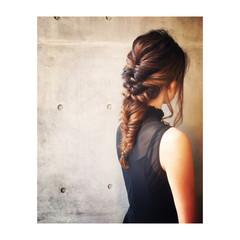 ロング 二次会 ヘアアレンジ フェミニン ヘアスタイルや髪型の写真・画像