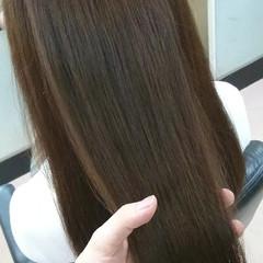 上品 艶髪 ストレート エレガント ヘアスタイルや髪型の写真・画像