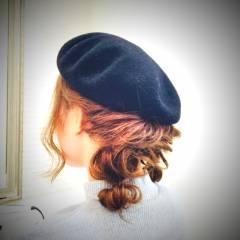 ヘアアレンジ モテ髪 愛され まとめ髪 ヘアスタイルや髪型の写真・画像