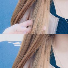 デート ハイライト インナーカラー アッシュ ヘアスタイルや髪型の写真・画像