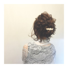 ショート ヘアアレンジ まとめ髪 簡単ヘアアレンジ ヘアスタイルや髪型の写真・画像