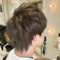 マッシュショート ウルフレイヤー メンズヘア ツーブロック ヘアスタイルや髪型の写真・画像