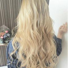 ダブルブリーチ ヘアカラー イルミナカラー ホワイトブリーチ ヘアスタイルや髪型の写真・画像