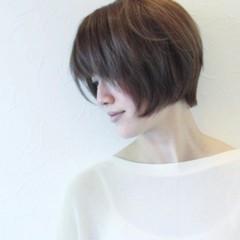 夏 涼しげ 小顔 ヘアアレンジ ヘアスタイルや髪型の写真・画像