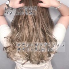 デート 大人可愛い 外国人風カラー 透明感カラー ヘアスタイルや髪型の写真・画像