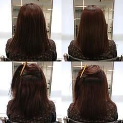 ナチュラル 髪質改善トリートメント 美髪 髪質改善 ヘアスタイルや髪型の写真・画像