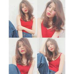 ガーリー かわいい 外国人風 大人かわいい ヘアスタイルや髪型の写真・画像