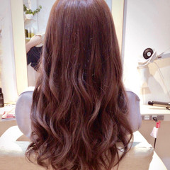 ピンクアッシュ  フェミニン 春 ヘアスタイルや髪型の写真・画像