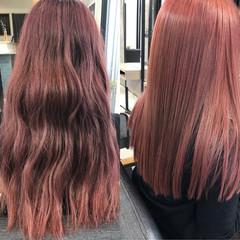 セミロング トリートメント 髪質改善カラー 髪質改善トリートメント ヘアスタイルや髪型の写真・画像