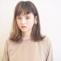 アンニュイ ハイライト 透明感 外国人風カラー ヘアスタイルや髪型の写真・画像
