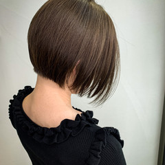ボブ ショートヘア TOKIOトリートメント ミニボブ ヘアスタイルや髪型の写真・画像