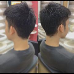 メンズショート メンズヘア ナチュラル ショート ヘアスタイルや髪型の写真・画像