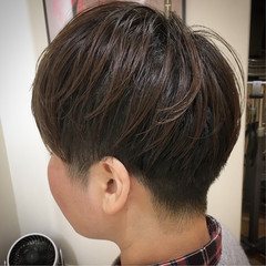 ストリート ショートヘア ベリーショート ショート ヘアスタイルや髪型の写真・画像