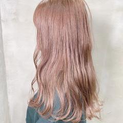 ミルクティーグレージュ ミルクティーベージュ ミルクティーアッシュ セミロング ヘアスタイルや髪型の写真・画像
