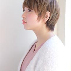 フェミニン ゆるふわ ヘアアレンジ ショート ヘアスタイルや髪型の写真・画像