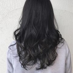 ハイライト 暗髪 グラデーションカラー モード ヘアスタイルや髪型の写真・画像
