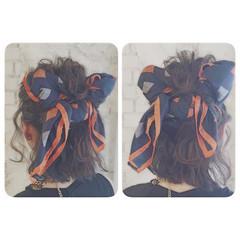 ハーフアップ 外国人風 ボブ ヘアアレンジ ヘアスタイルや髪型の写真・画像