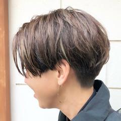ショート ショートヘア ベリーショート ミニボブ ヘアスタイルや髪型の写真・画像