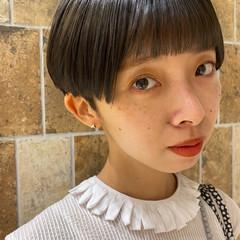 ヘルシースタイル ベリーショート こなれ感 ショートヘア ヘアスタイルや髪型の写真・画像