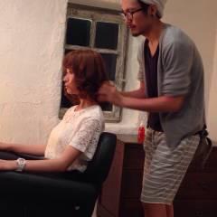 大人かわいい ガーリー セミロング ゆるふわ ヘアスタイルや髪型の写真・画像