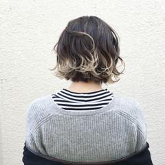 ボブ ブリーチ ストリート 外国人風 ヘアスタイルや髪型の写真・画像