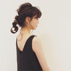 結婚式 ヘアアレンジ ロング ゆるふわ ヘアスタイルや髪型の写真・画像