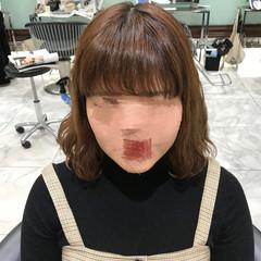 前髪パーマ ゆるふわパーマ 大人かわいい デジタルパーマ ヘアスタイルや髪型の写真・画像