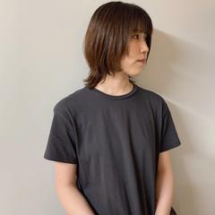 シンプル ショート ウルフカット パーマ ヘアスタイルや髪型の写真・画像