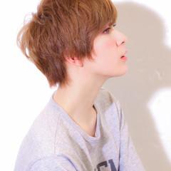 アッシュ 大人かわいい ショート 原宿系 ヘアスタイルや髪型の写真・画像