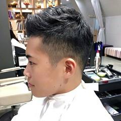 オフィス ナチュラル メンズ かっこいい ヘアスタイルや髪型の写真・画像