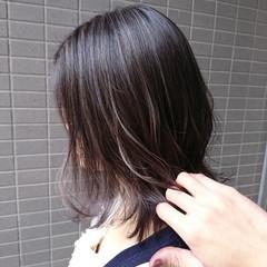 コントラストハイライト グラデーションカラー ハイライト ナチュラルグラデーション ヘアスタイルや髪型の写真・画像