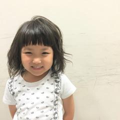 ミディアム ワイドバング 暗髪 ピュア ヘアスタイルや髪型の写真・画像