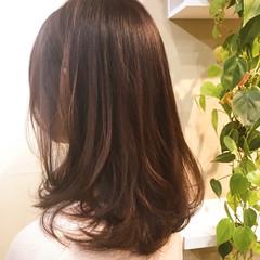 デート セミロング 大人かわいい 大人女子 ヘアスタイルや髪型の写真・画像