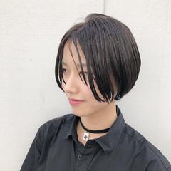カジュアル ショート 透明感カラー ストリート ヘアスタイルや髪型の写真・画像