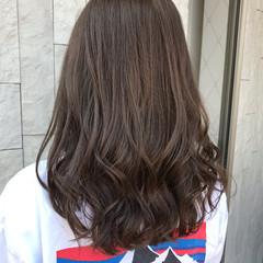 ミディアム #春 春色 アッシュベージュ ヘアスタイルや髪型の写真・画像