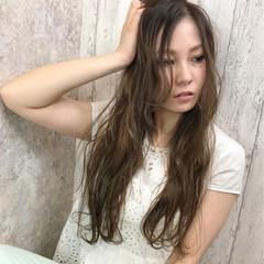 ハイライト ガーリー 大人かわいい 夏 ヘアスタイルや髪型の写真・画像