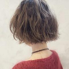ハイライト 大人女子 色気 ナチュラル ヘアスタイルや髪型の写真・画像