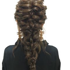 デート ガーリー ロング 結婚式 ヘアスタイルや髪型の写真・画像